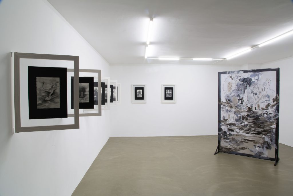 Felipe Talo, Hipnosis, 2016, installation view 4