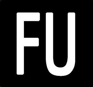 logo FU quadrato in alta