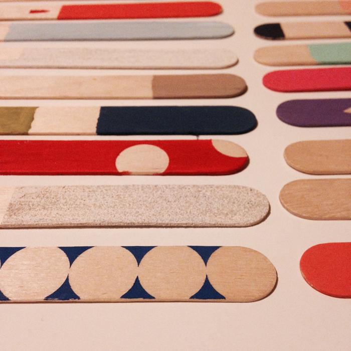Steccolecchi (popsicles)moduli ; 1,7x15 cm, 2016