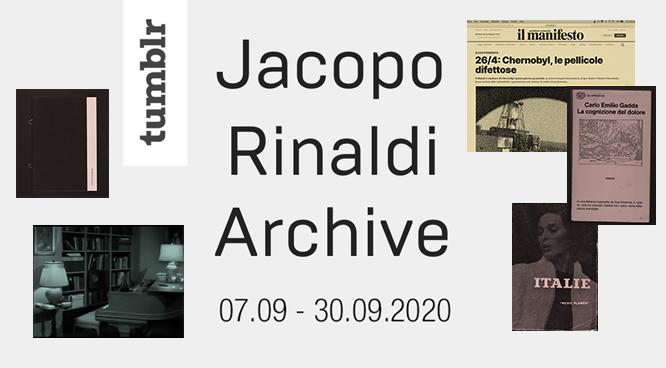 Jacopo Rinaldi Archive